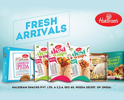 Enjoy Haldiram Delicious Snacks, Sweets, Namkeens, Frozen Food