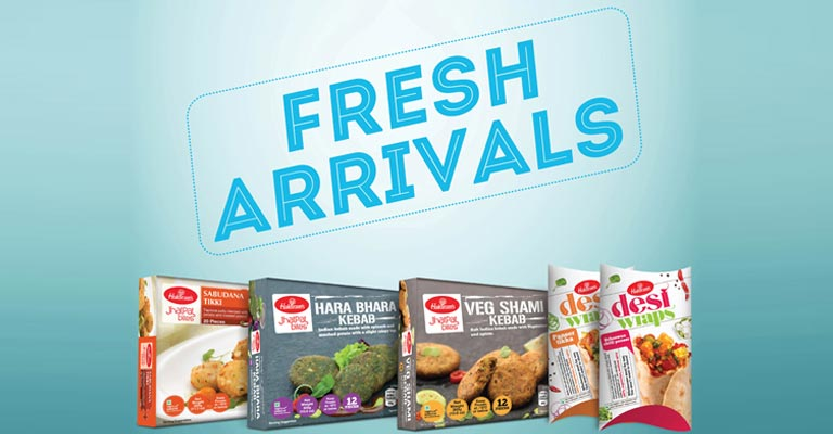 Haldiram's plays with authentic Indian flavors as it brings the new Desi Wraps range