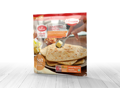 Home Style  Paratha(360gms/1.2kg)