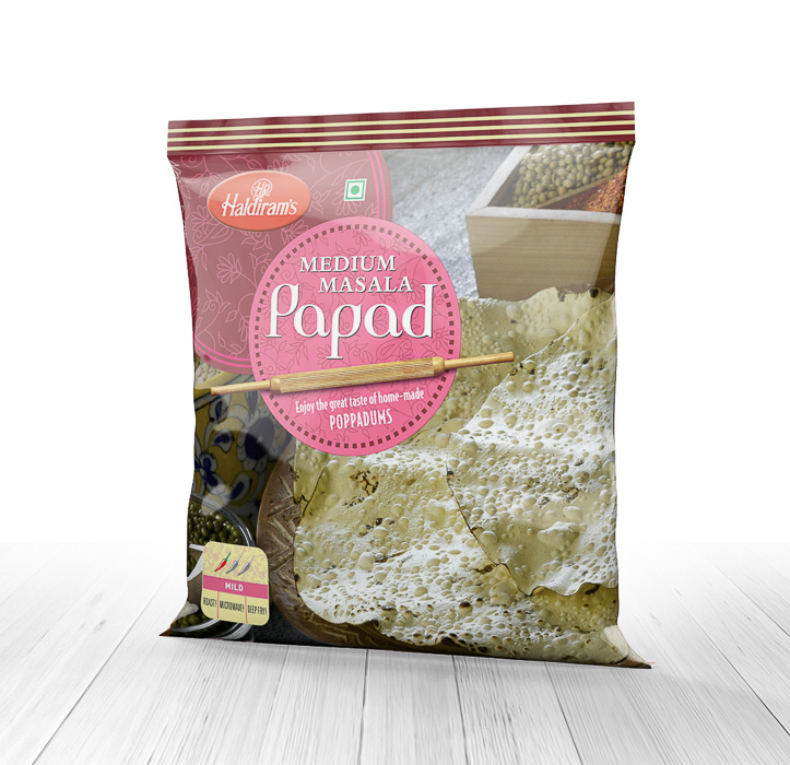 Medium Papad(200gms/400gms)
