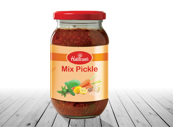 Mixed Pickle(400gms/1kg)